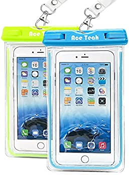 2-Pack Ace Teah Universal Waterproof Case,