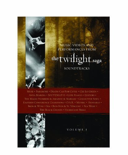 Music Videos and Performances from The Twilight Saga Soundtracks, Vol. 1 by Concert Hot Spot (Summit DVD)