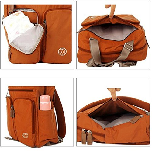 YuHan Baby Diaper Bag Travel Backpack Shoulder Bag Fit Stroller Changing Pad