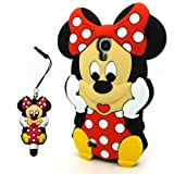 For Samsung Galaxy S4 IV i9500 3D Cartoon Lovely Cute Disney Soft Silicone Case Cover (Mickey - 4)