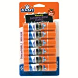Elmer s Disappearing Purple School Glue Sticks, 0.21 oz Each, 6 Sticks per Pack (E1560)