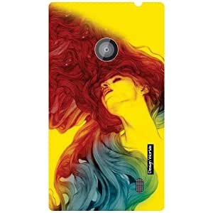 Design Worlds Nokia Lumia 520 Back Cover - Hair Designer Case and Covers