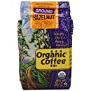 The Organic Coffee Co. Ground, Hazelnut, 12 Ounce (Pack of 3)