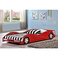 Donco Kids Race Car Twin Platform Bed