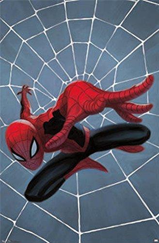 Spider-Man - Minimalist Poster 22 x 34in