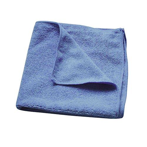 Microfaser Mikrofaser Tuch Lappen Wischtuch 40 x 40 cm blau