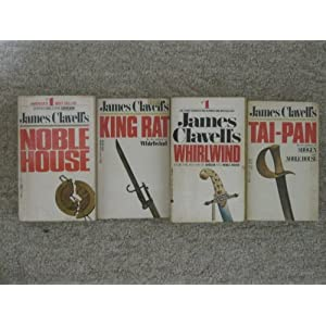 James Clavell Shogun   Tai Pan  Whirlwind