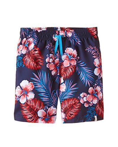 Esprit Bodywear Bañador Tipo Bermuda Azul