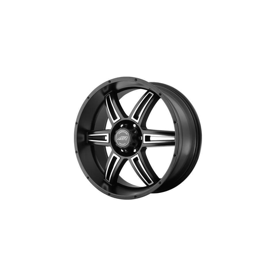 American Racing AR890 Wheel with Satin Black Machined (18x8/5x5.5)