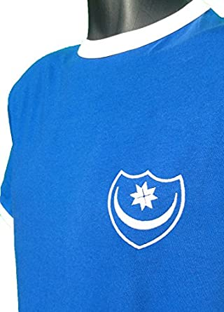 Old School Football Portsmouth Retro 1970s Football T Shirt, Size- S