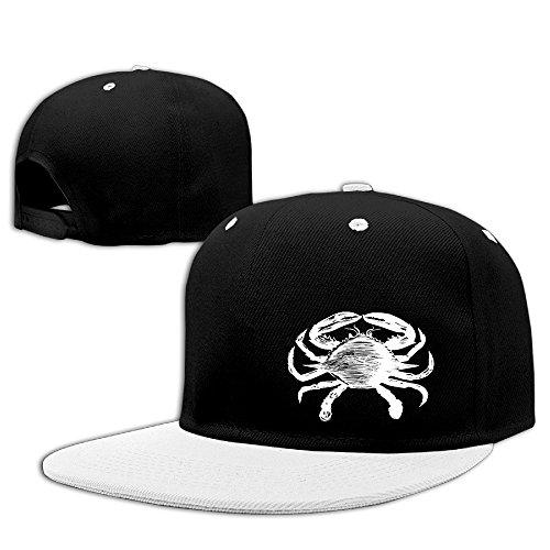 vintage-animal-illustration-crab-mens-hip-hop-baseball-caps-snapback