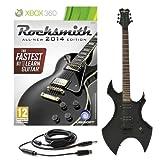 Rocksmith 2014 Xbox 360 + Chitarra Elettrica Harlem Nera