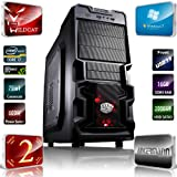 Ankermann PC Wildcat GAMER IVY i7 3770 (4x3, 40GHz) | Win7 Profesional 64bit | NVIDIA GeForce GTX660 2048MB | 16GB DDR3 PC1600 | 2,0 TB de disco duro SATA3 | Card Reader 52in1 | MB MSI B75 USB3.0 | 24xDVD Escritor | USB 3 |. SILENT 600W PSU 2a Garantía | Case Cooler Master K380 Front USB 3.0 | PC con 2 años de garantía real