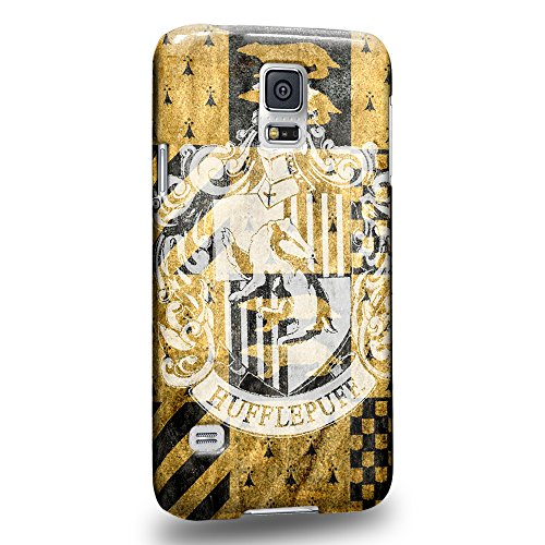 Case88 Premium Designs Harry Potter & Hogwarts Collections Hogwarts Hufflepuff Sigil Protective Snap-on Hard Back Case Cover for Apple Samsung Galaxy S5 (Ford Galaxy S5 Phone Case compare prices)