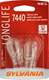 Sylvania 7440 LL Long Life Miniature Lamp, (Pack of 2)