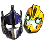 6 Transformers Masken Geburtstag Kind...