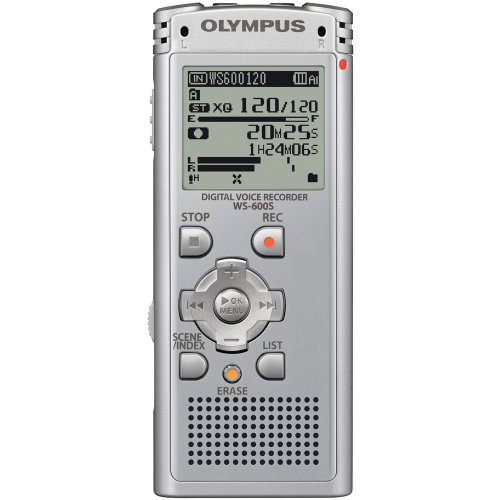 Olympus WS-600S Digital Voice Recorder 142610 (Silver)