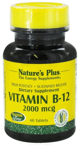 Nature'S Plus Vitamin B-12 2000Mcg Time Release - 60 - Sustained Release Tablet [Misc.]