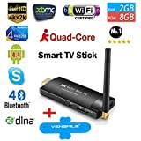 Mini Pc Mk903v Google Tv Stick Dongle Quad Core Android 4.4 Mini Pc 2gb RAM 8gb ROM Better Than Android Tv Box +Vensmile Phone Stand