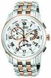 Citizen Watch Calibre 8700 Men's Quartz Watch with White Dial Analogue Display and Multicolour Stainless Steel Plated Bracelet BL8106-53A
