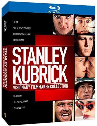 Stanley Kubrick: Visionary Filmmaker Collection - 8-Disc Box Set ( 2001: A Space Odyssey / A Clockwork Orange / The Shining / Full Metal Jacket / Eyes Wi [ Blu-Ray, Reg.A/B/C Import - United Kingdom ]