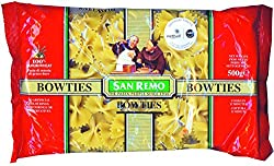 San Remo Bowties, Durum Wheat Pasta, 500gm