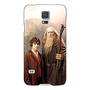 Jugaaduu LOTR Hobbit Gandalf Frodo Back Cover Case For Samsung Galaxy S5