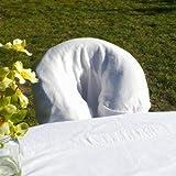 CharmTM 100% cotton face rest cover , Natural