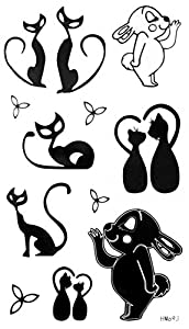 Grashine new design temporary tattoo stickers Cute and lovely cartoon