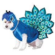 Animal Planet Peacock Dog Costume Multicolor