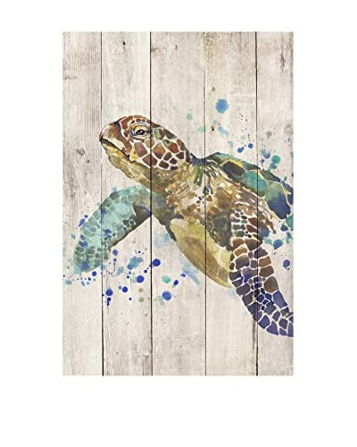 Surdic Panel de Madera Turtle Multicolor
