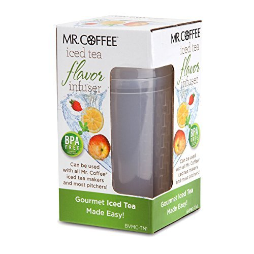 Mr. Coffee BVMC-TN1 Iced Tea Flavor Infuser, Clear by Mr. Coffee (Mr Coffee Iced Tea Cafe compare prices)