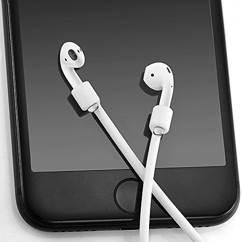 EloBeth AirPods 用 ネックストラップ [シリカゲル製 落下防...