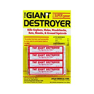 The Giant Destroyer, 4 tubes, 2 oz