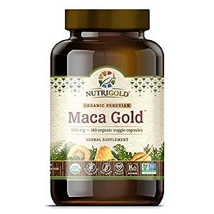 Nutrigold Maca Root Powder Capsules Supplement
