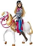 Mattel Barbie CFN42 - Barbie und Pferd hergestellt von Mattel Barbie