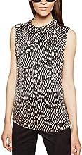 Comma Damen Regular Fit Bluse 85.899.13.0087