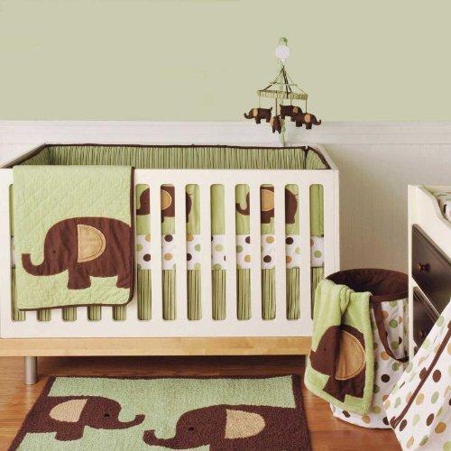 Elephant Crib Bedding Tktb