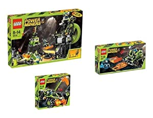 Lego 66319 Power Miners Superset 3 In 1