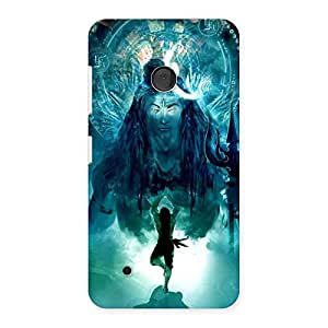 Ajay Enterprises Power Shiva Om Back Case Cover for Lumia 530