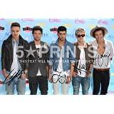 "One Direction Photo Poster Signed PP Niall Horan Harry Styles Zayn Louis Liam 12x8"" Perfect Giftby One Direction"