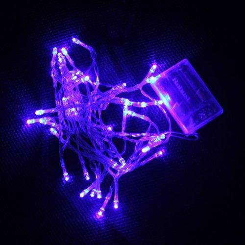 Vktech Practical 40 Led 4M 2-Mode String Fairy Light For Christmas Wedding Party (Blue Light)