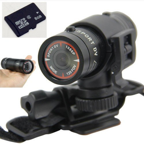 8gb Full Hd 1080p Mini Waterproof Sports DVR Cam Outdoor Action Camera Dv 60fps (O0504)