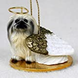 Pekingese Dog Angel Figurine