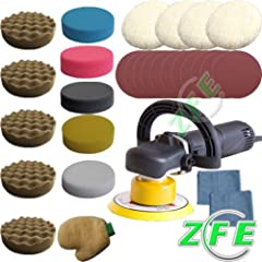 New 710W Dual Action Machine Car Polisher/Buffer/Sander Set 2