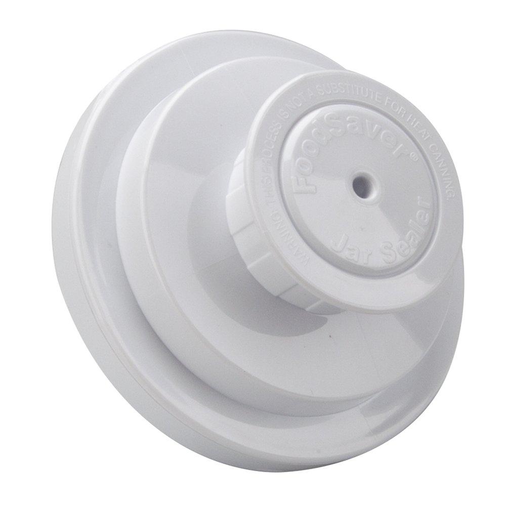 foodsaver air tight wide mouth mason jar lid sealer for. Black Bedroom Furniture Sets. Home Design Ideas