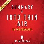 Summary of Into Thin Air by Jon Krakauer | Includes Analysis |  Instaread