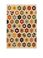 Kilim Carpets by Jalal Alfombra Kilim Star (Beige/Multicolor)