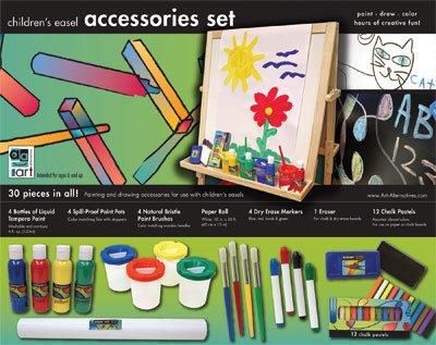 Imagen de Arte de los niños Alternativas Caballete kit de accesorios
