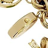 AK Anne Klein Women's 109586CHRM Gold-Tone Multi-Chain Charm Bracelet